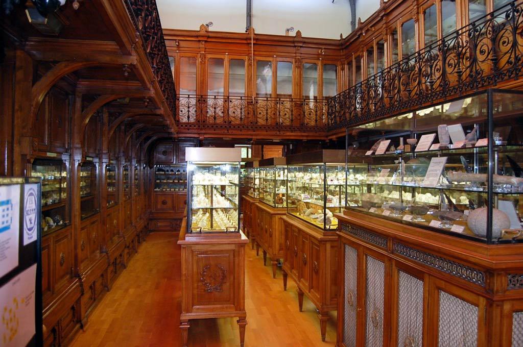 Colección de gemas del IGE en el Museo Don Felipe Borbón y Grecia