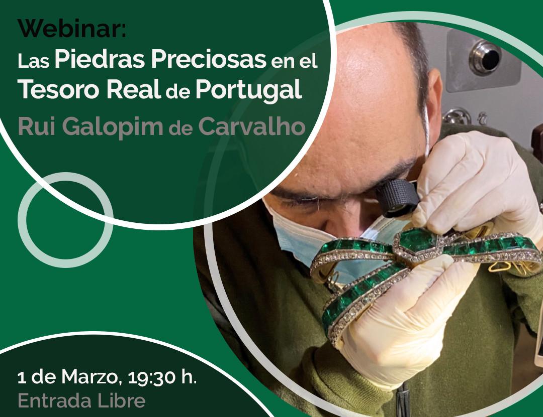 webinar tesoro real de portugal
