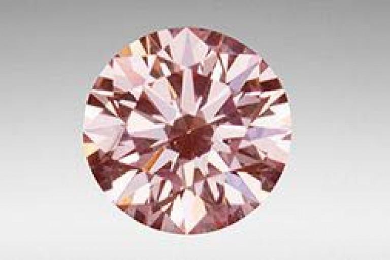 Pink CVD GIA diamantes sintéticos