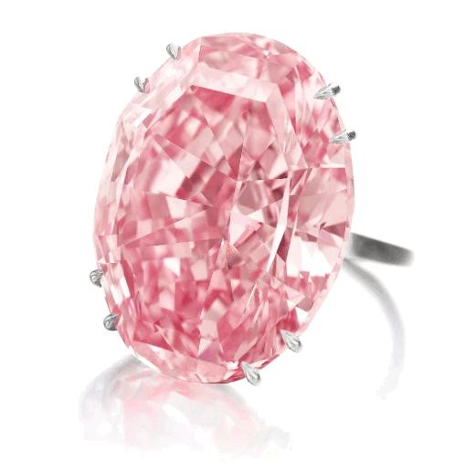 Diamante Estrella Rosa COLOR DIAMANTES