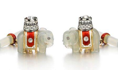 Varias piezas de Fabergé, a subasta