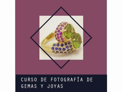 Curso de Fotografía de Gemas y Joyas