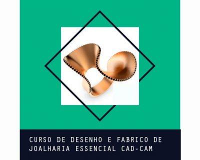 Curso de Desenho e Fabrico de Joalharia Essencial CAD-CAM