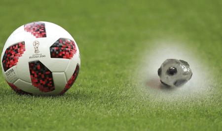 Un diamante propio del Mundial de Fútbol