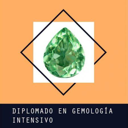 Diplomado en Gemología modalidad Intensivo
