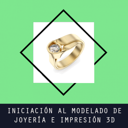 Iniciación al modelado de joyería e impresión 3D
