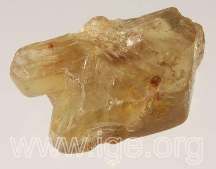 Minerales cristalizados en rómbico