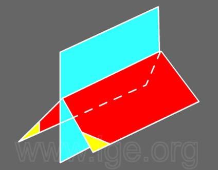 Cristalografía - formas simples: monoclínico