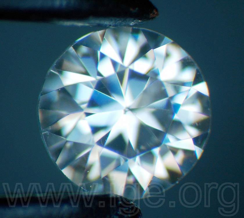 Moissanita imitación de diamante