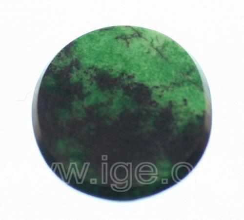 cloromelanita color