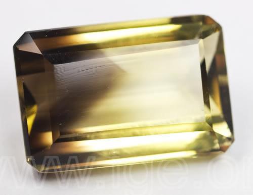 cuarzo citrino zonalidades color