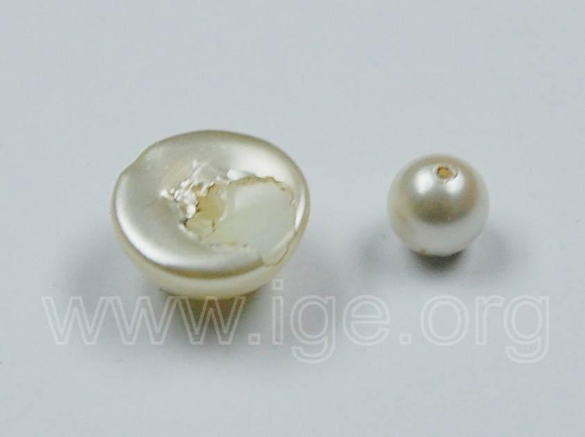 Gemas de origen orgánico - perlas