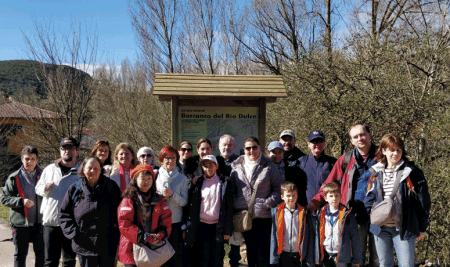 La excursión didáctica del IGE a Sigüenza, un éxito